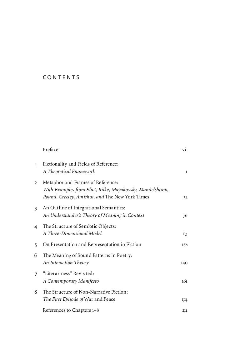 Explorations In Poetics Benjamin Harshav