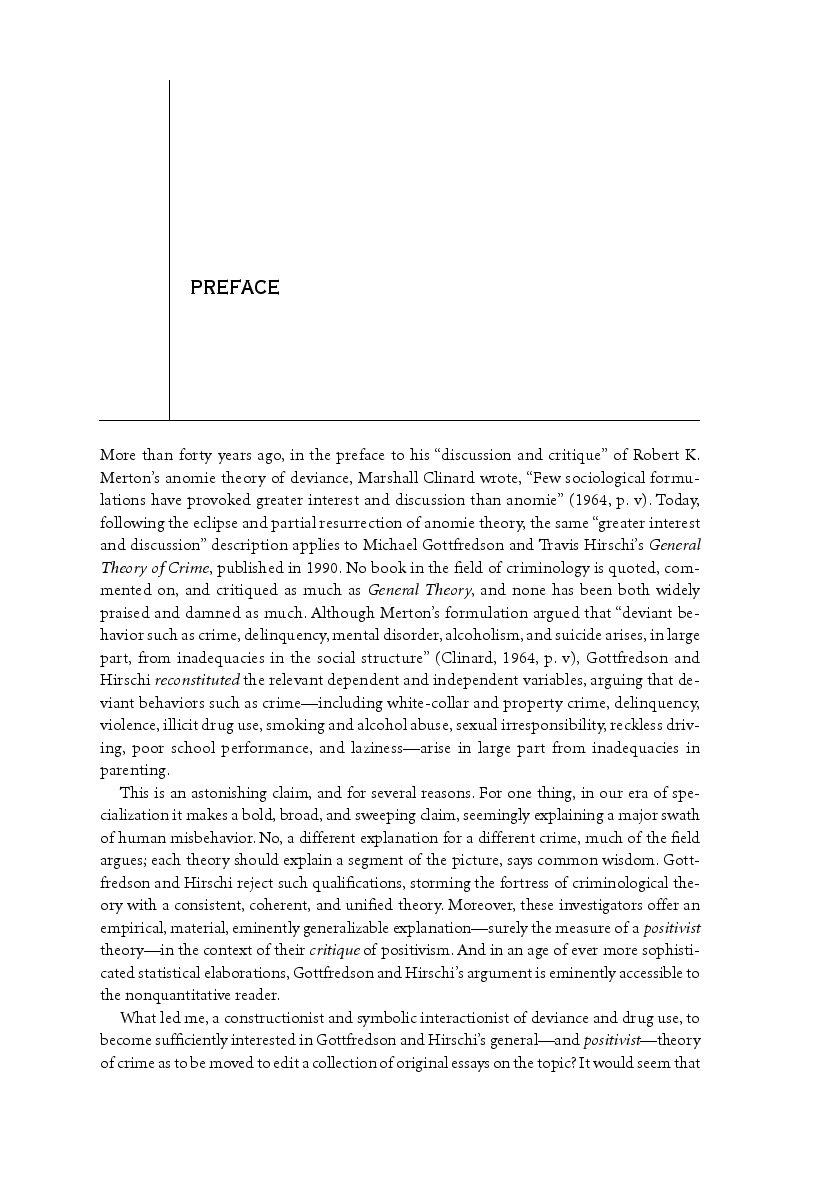 theories criminal behavior essay