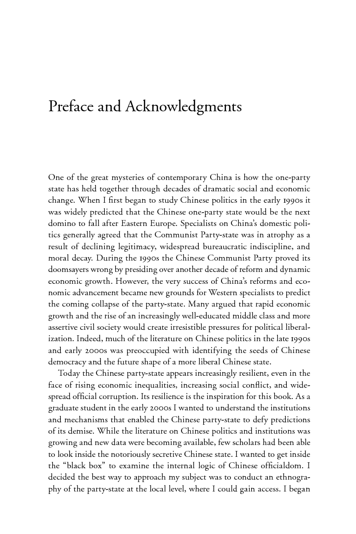Start reading Patronage and Power | Ben Hillman
