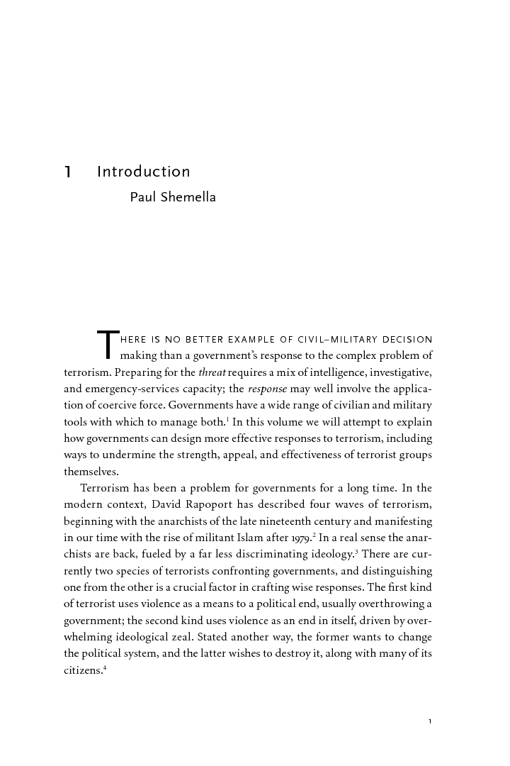 an introduction to the issue of international terrorism by john freel Prosecuting terrorists at the international criminal court: reevaluating an unused legal tool to combat terrorism aviv cohen introduction.