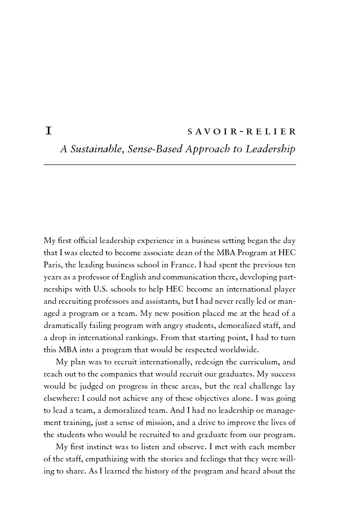 Buy Essay Papers Leading With Sense The Intuitive Power Of Savoirrelier  Valrie Gauthier What Is The Thesis Of A Research Essay also Critical Analysis Essay Example Paper Leading With Sense The Intuitive Power Of Savoirrelier  Valrie  Narrative Essay Example High School