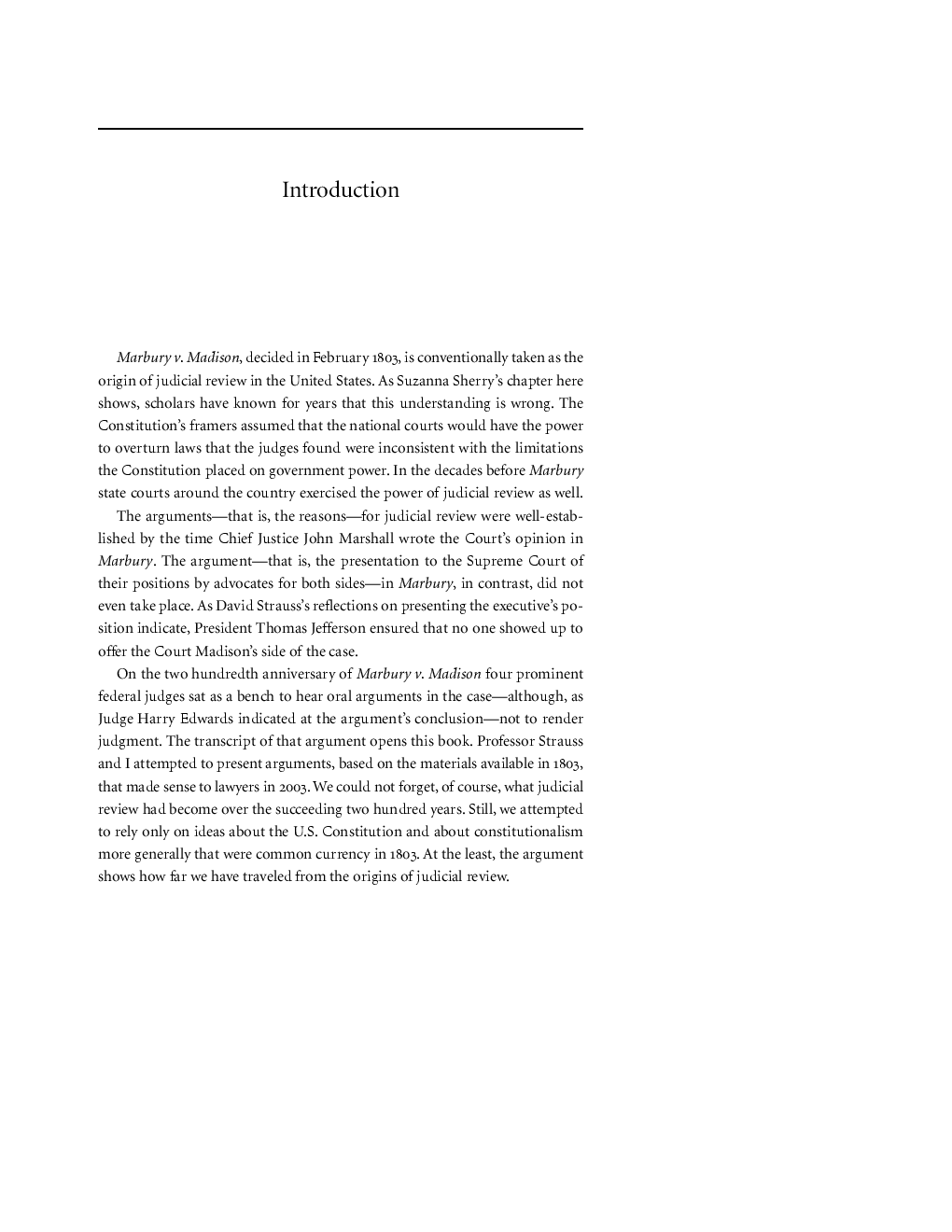 Essay About Deforestation  Old Man And The Sea Essay also The Lesson Essay Arguing Marbury V Madison  Edited By Mark Tushnet How To Write A Correct Essay