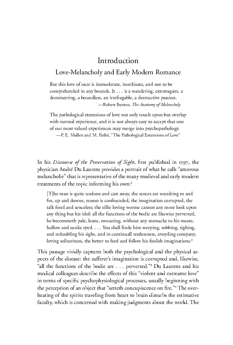 The Secret Wound: Love-Melancholy and Early Modern Romance | Marion ...