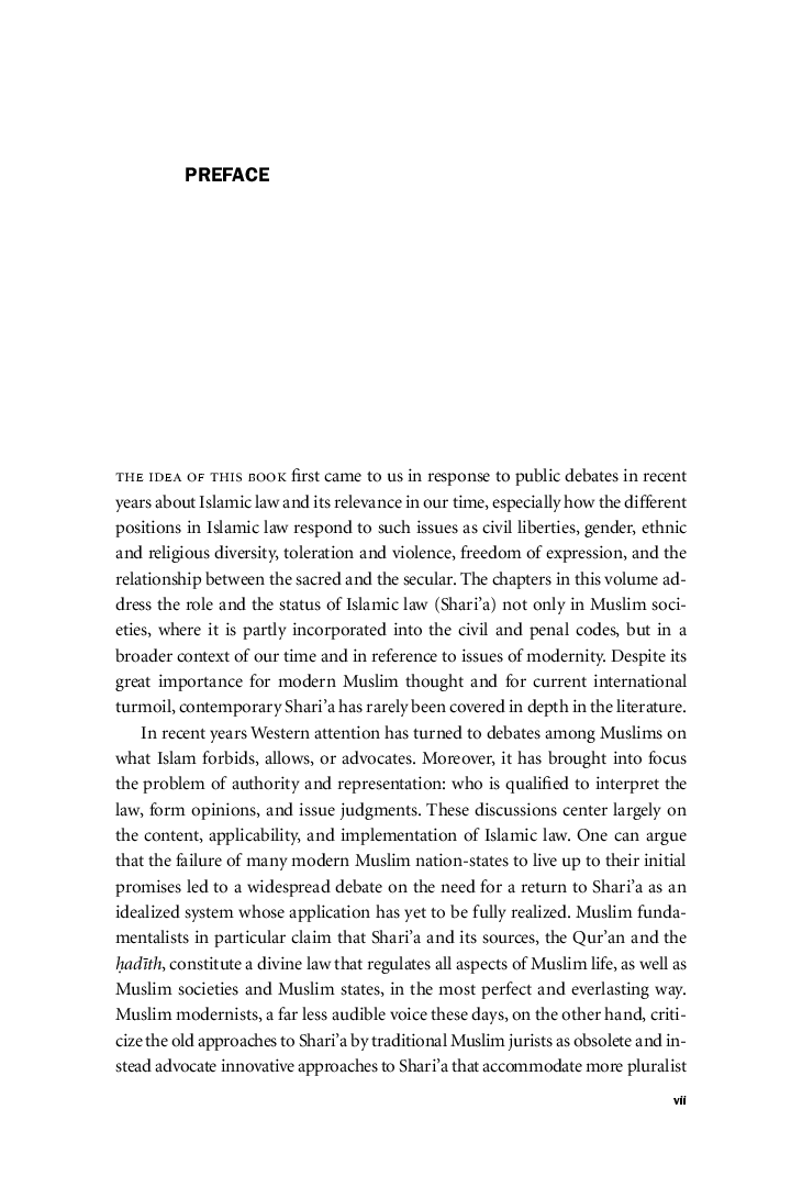 Shariu0027a: Islamic Law In The Contemporary Context | Edited By Abbas Amanat  And Frank Griffel