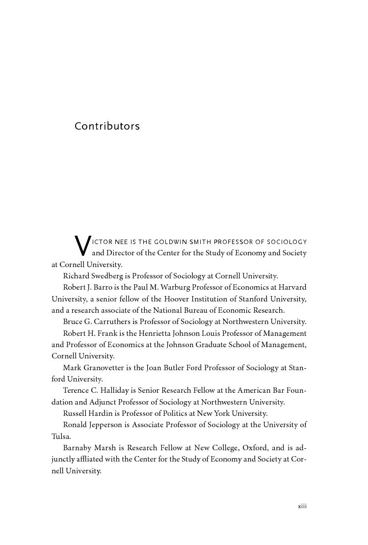 On capitalism edited by victor nee and richard swedberg madrichimfo Choice Image