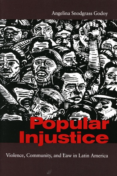 Cover of Popular Injustice by Angelina Snodgrass Godoy