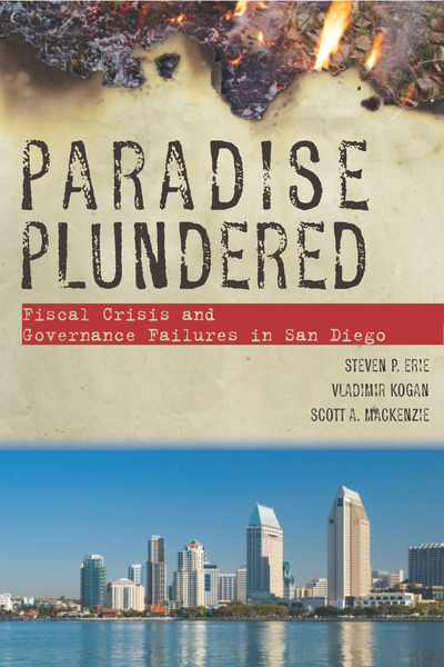 Cover of Paradise Plundered by Steven P. Erie, Vladimir Kogan, and Scott A. MacKenzie