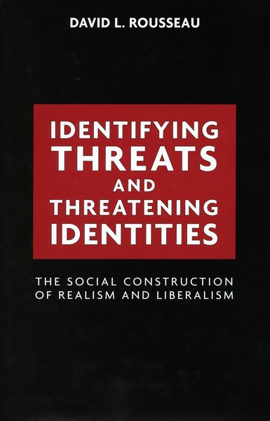 Cover of Identifying Threats and Threatening Identities by David L. Rousseau