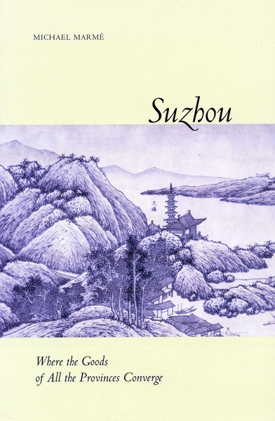 Cover of Suzhou by Michael Marmé