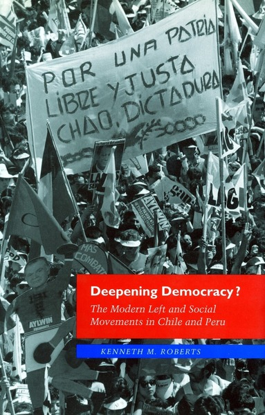 Cover of Deepening Democracy? by Kenneth M. Roberts