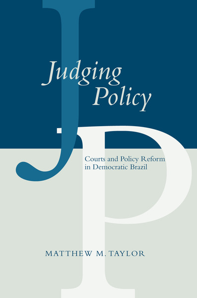 Cover of Judging Policy by Matthew M. Taylor