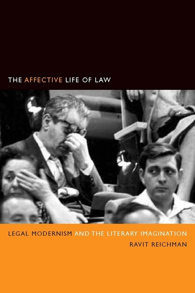 Cover of The Affective Life of Law by Ravit Reichman