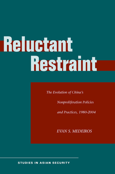 Cover of Reluctant Restraint by Evan S. Medeiros