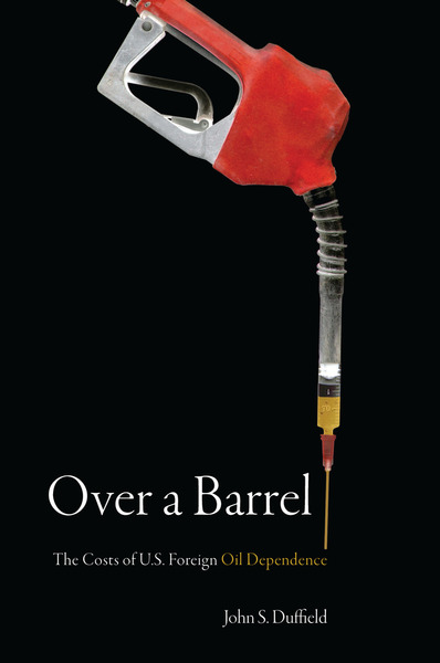 Cover of Over a Barrel by John S. Duffield
