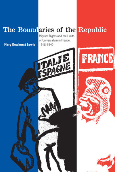 Cover of The Boundaries of the Republic by Mary Dewhurst Lewis