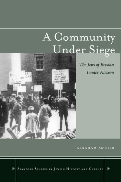 Cover of A Community under Siege by Abraham Ascher