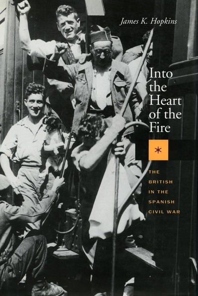 Cover of Into the Heart of the Fire by James K. Hopkins