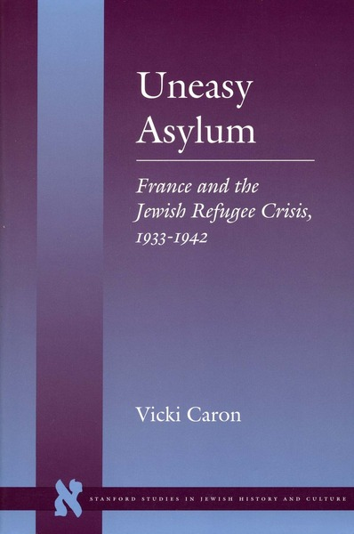 Cover of Uneasy Asylum by Vicki Caron