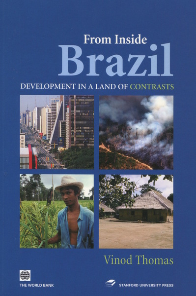 Cover of From Inside Brazil by Vinod Thomas