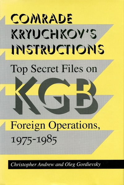 Cover of Comrade Kryuchkov