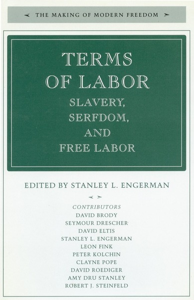 Cover of Terms of Labor by Edited by Stanley L. Engerman