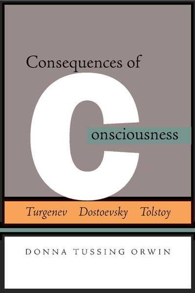 Cover of Consequences of Consciousness by Donna Tussing Orwin