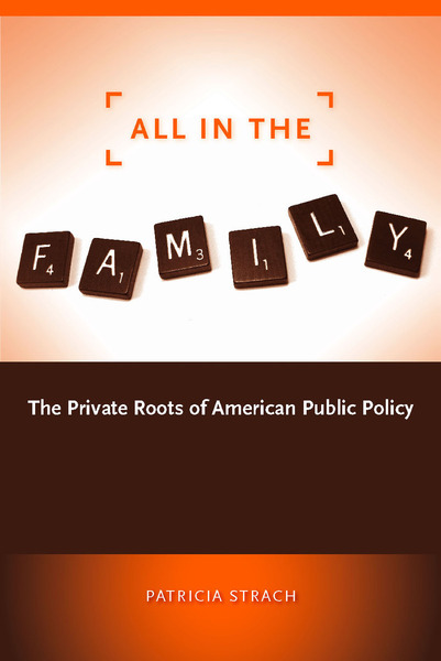 Cover of All in the Family by Patricia Strach