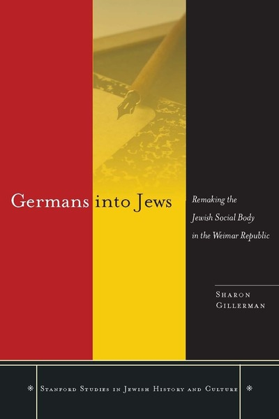 Cover of Germans into Jews by Sharon Gillerman