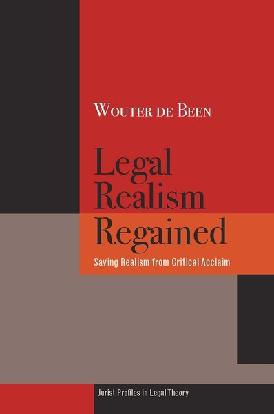 Cover of Legal Realism Regained by Wouter de Been