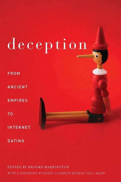 Cover of Deception by Edited by Brooke Harrington With a Foreword by Murray Gell-Mann