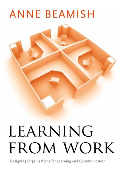 Cover of Learning from Work by Anne Beamish