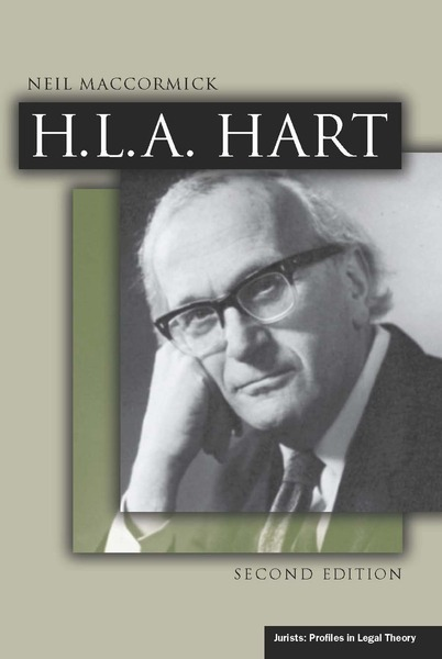 Cover of H.L.A. Hart, Second Edition by Neil MacCormick