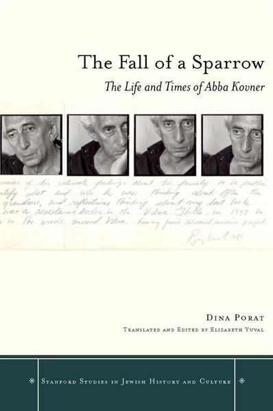 Cover of The Fall of a Sparrow by Dina Porat Translated and Edited by Elizabeth Yuval