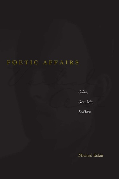 Cover of Poetic Affairs by Michael Eskin