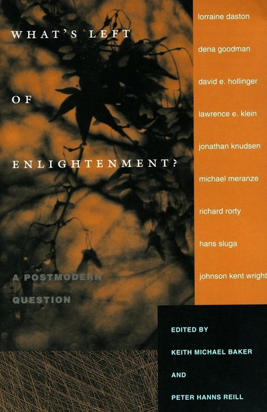 Cover of What's Left of Enlightenment? by Edited by Keith Michael Baker and Peter Hanns Reill