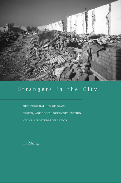 Cover of Strangers in the City by Li Zhang