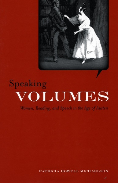 Cover of Speaking Volumes by Patricia Michaelson