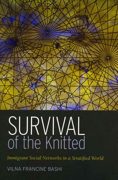 Cover of Survival of the Knitted by Vilna Francine Bashi Treitler