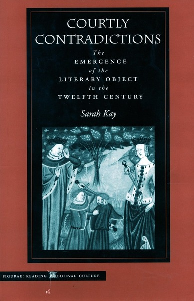 Cover of Courtly Contradictions by Sarah Kay