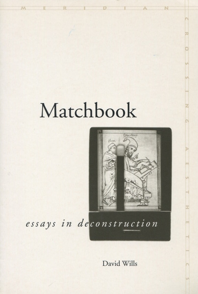 Cover of Matchbook by David Wills