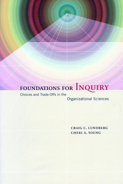 Cover of Foundations for Inquiry by Craig C. Lundberg and Cheri A. Young