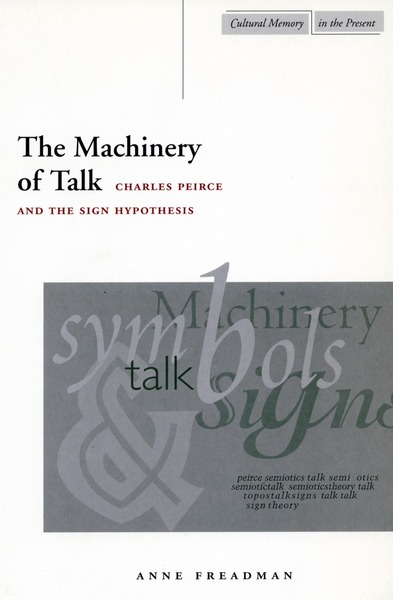 Cover of The Machinery of Talk by Anne Freadman