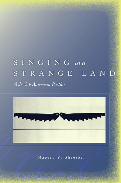Cover of Singing in a Strange Land by Maeera Y. Shreiber