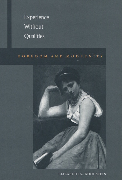 Cover of Experience Without Qualities by Elizabeth S. Goodstein