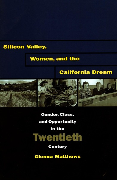 Cover of Silicon Valley, Women, and the California Dream by Glenna Matthews