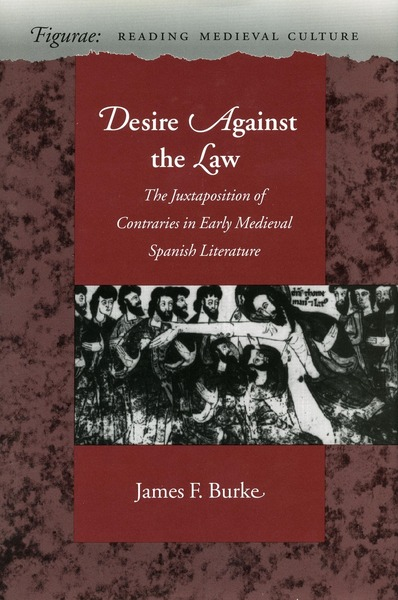 Cover of Desire Against the Law by James F. Burke