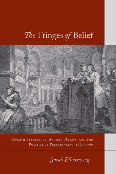 Cover of The Fringes of Belief by Sarah Ellenzweig