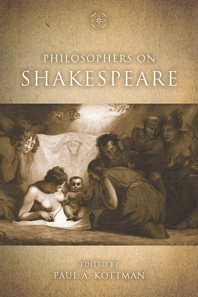 Cover of Philosophers on Shakespeare by Edited by Paul A. Kottman