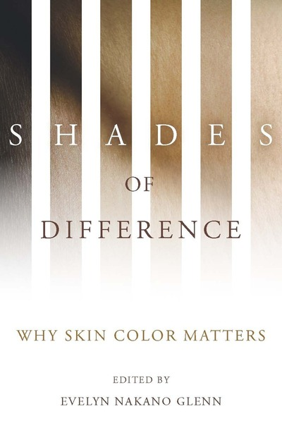 Cover of Shades of Difference by Edited by Evelyn Nakano Glenn