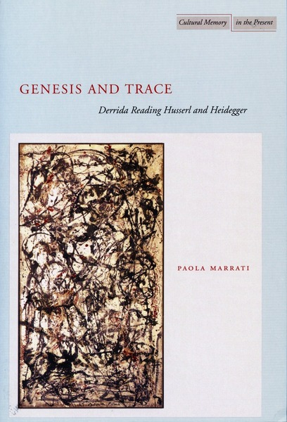 Cover of Genesis and Trace by Paola Marrati